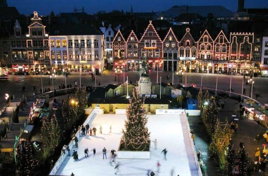 Excursão ao mercado de Natal em...