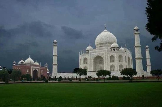 Excursão de 1 Dia ao Taj Mahal e Agra...