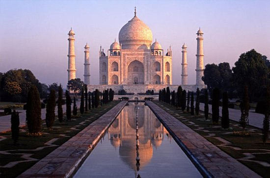 Taj Mahal at Sunrise Agra Day-Tour from...