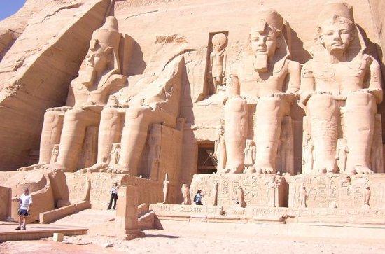 Abu Simble de Aswan de carro