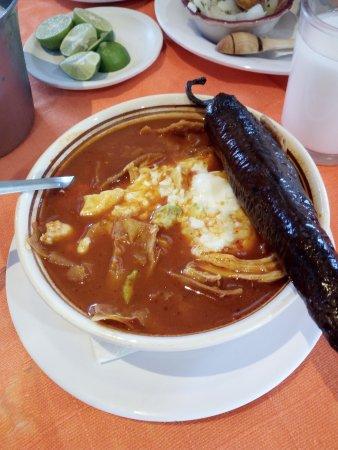 Tradicional Sopa Azteca Sopa De Tortilla Fotografia De Chon Y