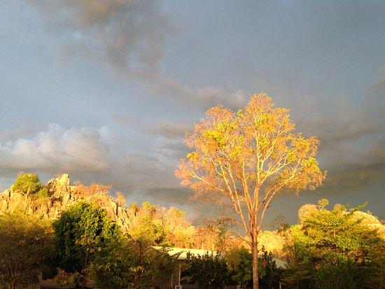 Savannahlander - Day Tours: Chilligoe at dusk following a crazy storm