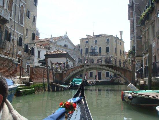 paseo en gondola - Picture of Hotel Royal San Marco, Venice ...