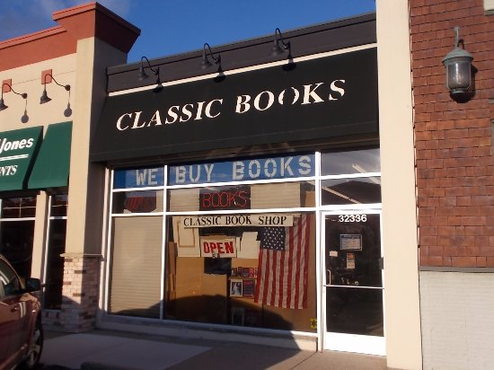 Classic Book Shop, 43436 Woodward Ave, Royal Oak MI.