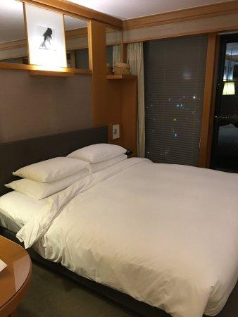 Grand Hyatt Seoul: sehr bequemes Bett