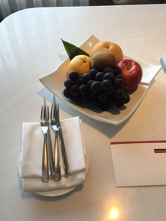 Grand Hyatt Incheon: sehr schöne Begrüßung