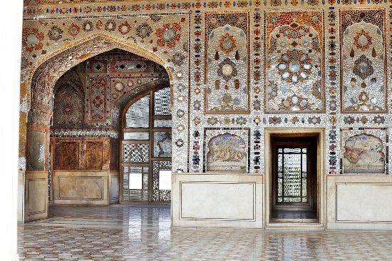 Shish Mahal Palace Of Mirrors Picture Of Lahore Fort Lahore