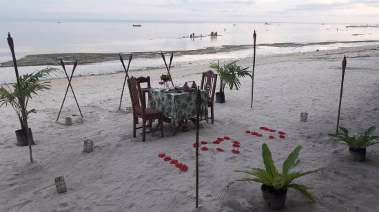 Amarela Resort: Cena romántica