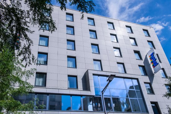 Park Inn by Radisson Luxembourg City : Hotel Front Side Day