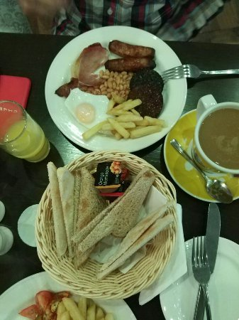 Tuam, Ireland: Desayuno espectacular