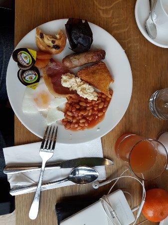 Great variety at Breakfast