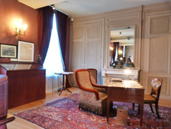 Bureau Изображение maison de jules verne Амьен tripadvisor