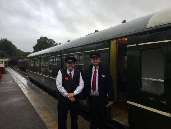 Ecclesbourne Valley Railway: Train Crew Tom Tait & Pete Watts, Derbyshire Day 2017 with an early start (07:30)