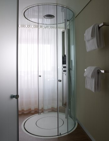 citizenM Amsterdam: Shower