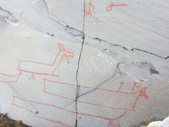 Rock carvings picture of alta museum world heritage rock art