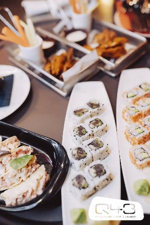 Q43: Sushi Rolls