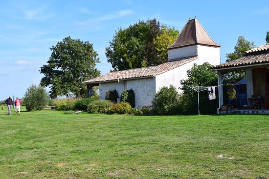 Eymet, France: Lunch time location