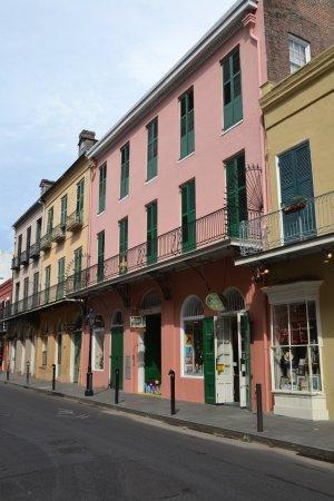 Royal Street: Kleurrijke gevels