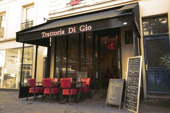 la trattoria di gio aux halles le restaurant des authentiques saveurs italiennes photo de la. Black Bedroom Furniture Sets. Home Design Ideas