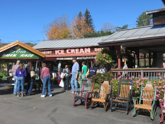 Fly Creek, NY: Snack bar