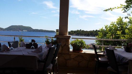 Sudurad, โครเอเชีย: The views are simply superb