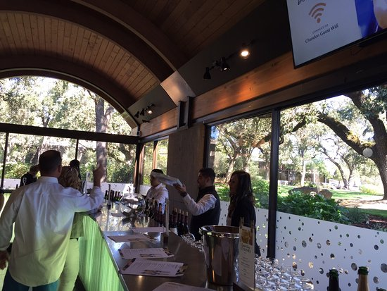 Yountville, CA: Tasting room at Chandon