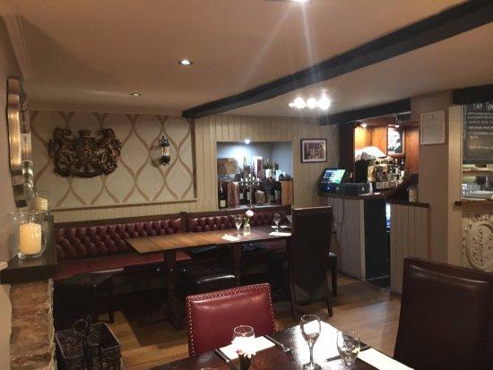 Kidlington, UK: restaurant