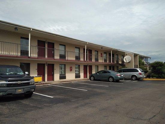 West Helena, AR: Esterno motel