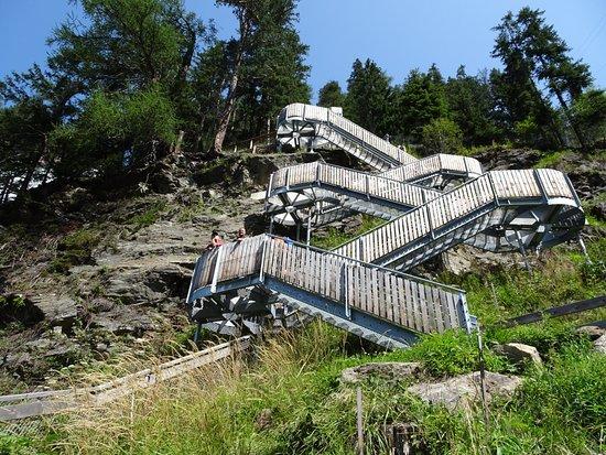 Klettersteig Längenfeld : Klettersteig reinhard schiestl bei längenfeld im Ötztal