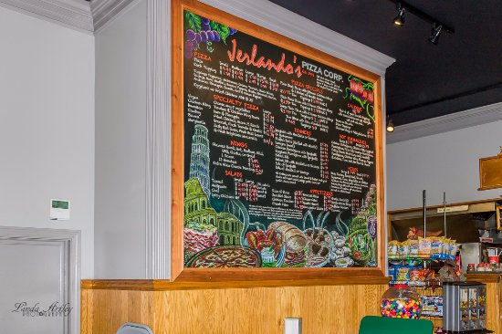 Montour Falls, Estado de Nueva York: The menu board to order