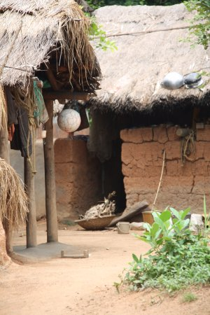 Shantiniketan, الهند: maisons house 