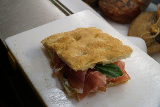 Pane e Toscana : schiacciata espressa