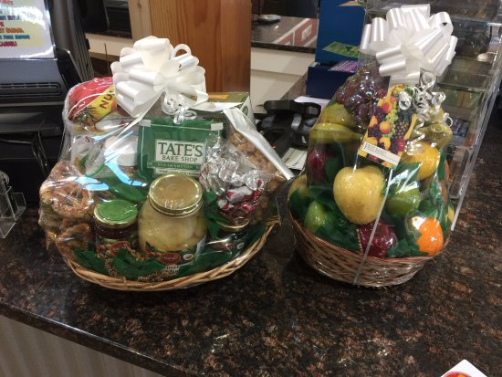 Swansea, MA: We offer a dry goods and fruit baskets for any occasion!