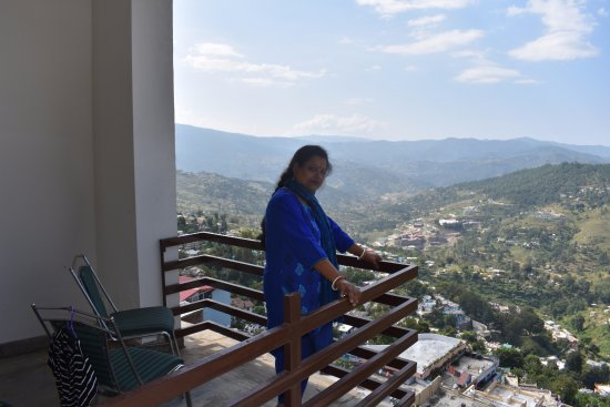 Hotel Shivalik: Another view from balcony