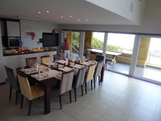 Crayfish Lodge Sea & Country Guest House: Frühstücksraum