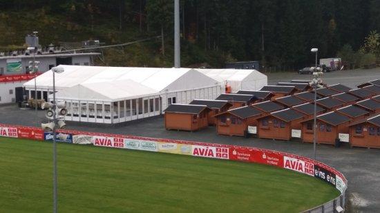 Vogtland Arena Klingenthal: Sportlerbereich