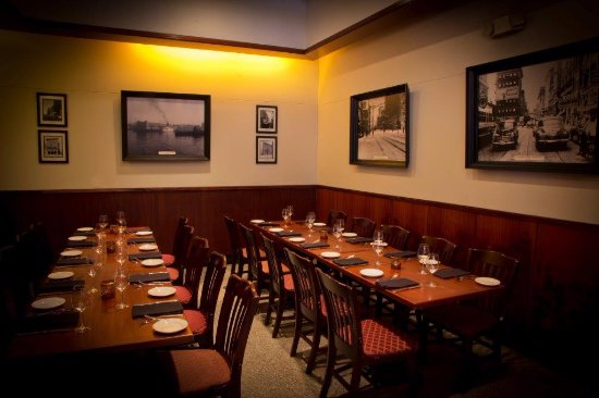 456 Fish: Our private room can accommodate 20 guest and is great for a meetings, parties, and celebrations