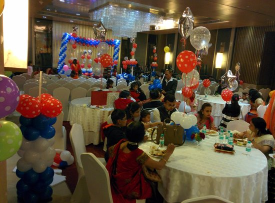 Radisson Blu Jaipur birthday party Picture of Radisson Blu