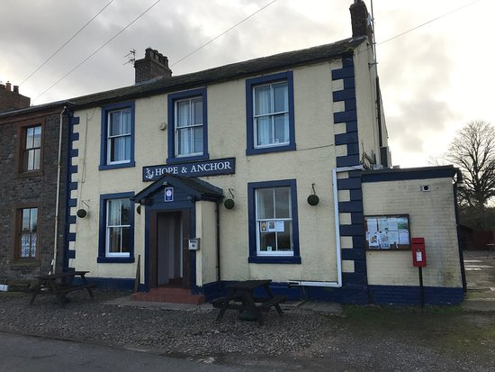 Port Carlisle, UK: The Hope and Anchor Inn