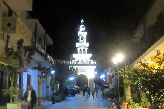 Palaiochora, Greece: Spotlight on the Bell Tower