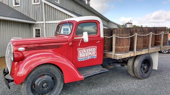 Hartland, Canadá: Vintage Potato Chip Truck