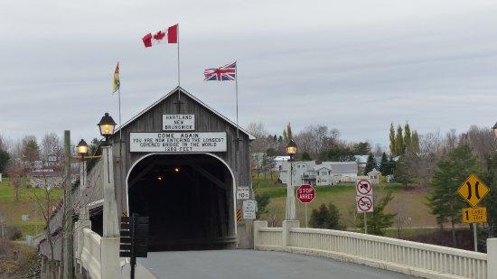 Hartland, كندا: Bridge Entrance