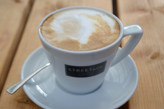Marden, UK: Our coffee is freshly ground and served just how you like it