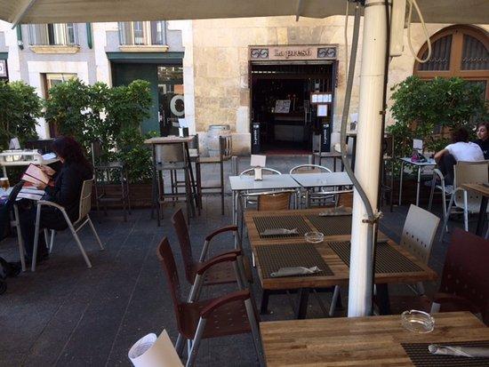 Terraza Picture Of Cerveseria La Preso Reus Tripadvisor