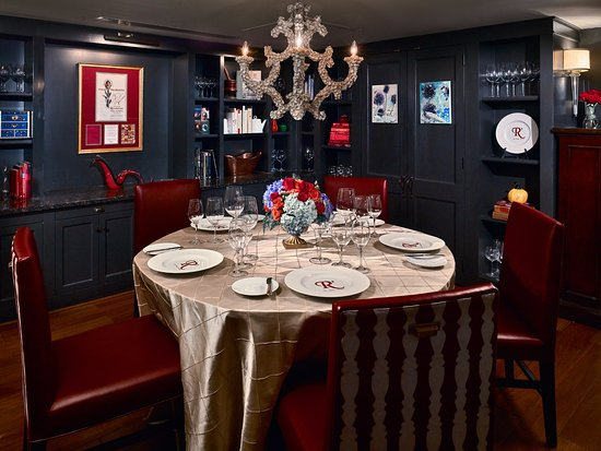 Royal Sonesta New Orleans: Chefu0027s Office, VIP Private Dining Room At  Ru0027evolution