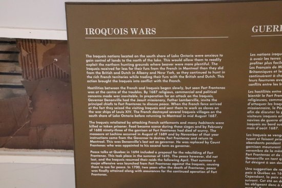 Wolfe Island, Kanada: The Iroquois ward