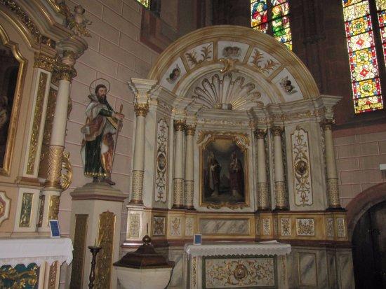 Marmoutier, France: partie de l'église
