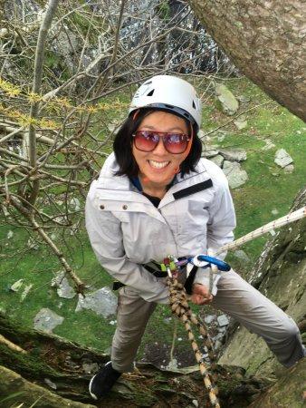 Кендал, UK: Climbing at Tilberthwaite