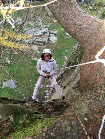 Kendal, UK: Climbing at Tilberthwaite