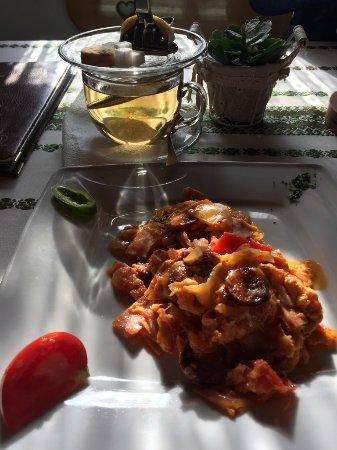 Orvenyes, Magyarország: Самый вкусный венгерский омлет с чаем